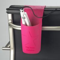 Sujetador de silicona para herramientas térmicas de peluquería